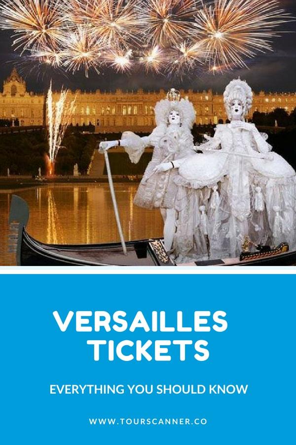 Bilhetes Palácio de Versalhes