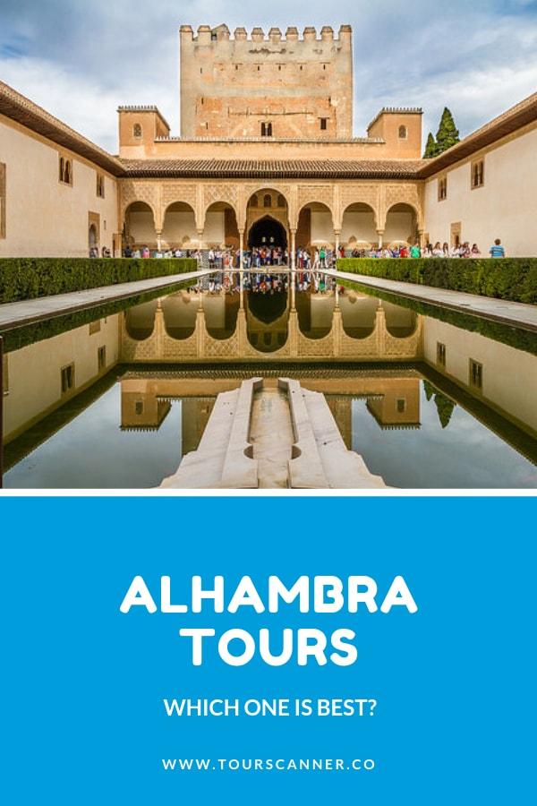 Alhambra tours - pinterest