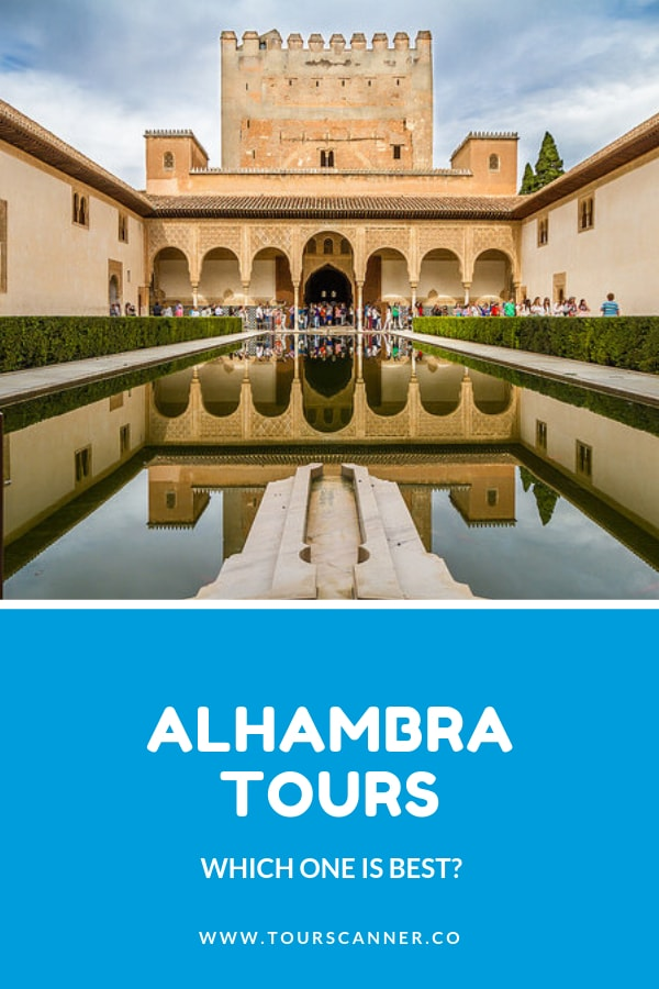 Alhambra tours - pinterest