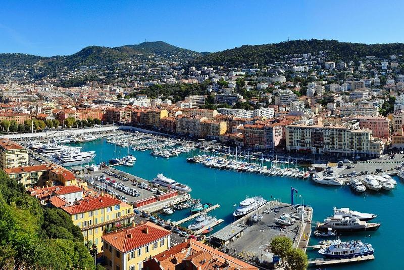 Excursiones en barco desde Niza