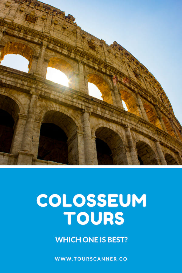 visite guidate del Colosseo Pinterest