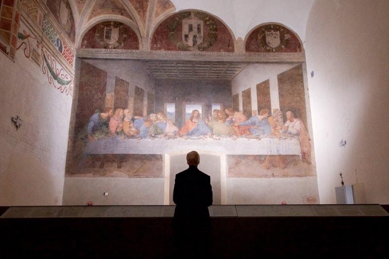 Da Vinci Last Supper painting