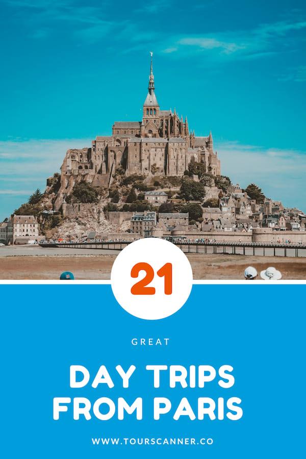 Viagens de um dia de Paris