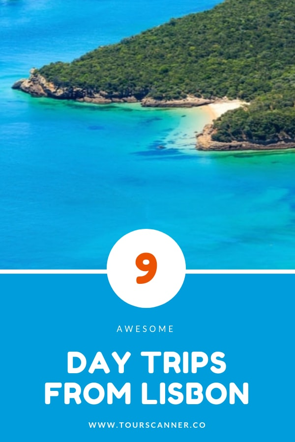 Day trips from Lisbon Pinterest image