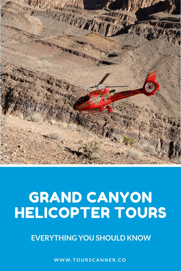 Tour d'hélicoptère au Grand Canyon Pinterest