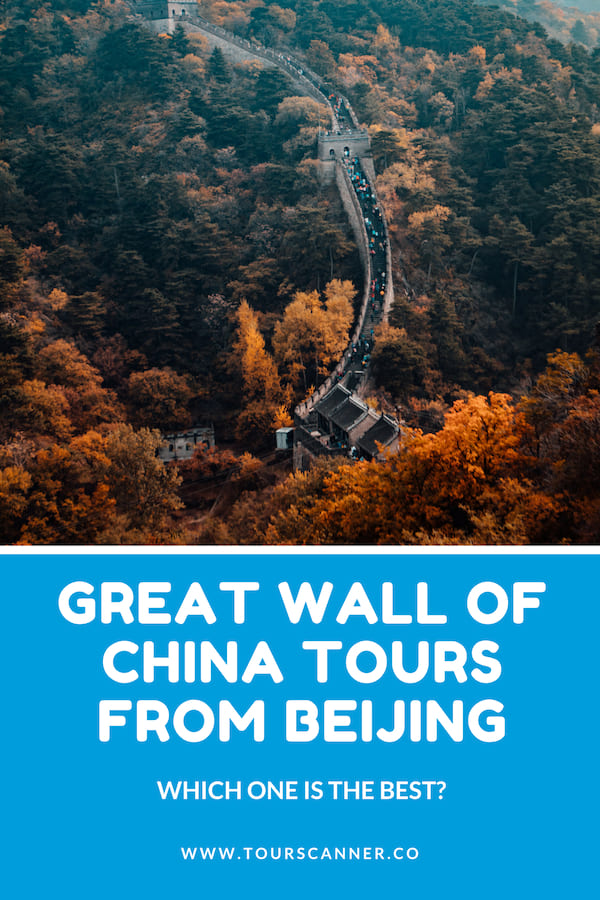 Great Wall Of China From Beijing Pinterest