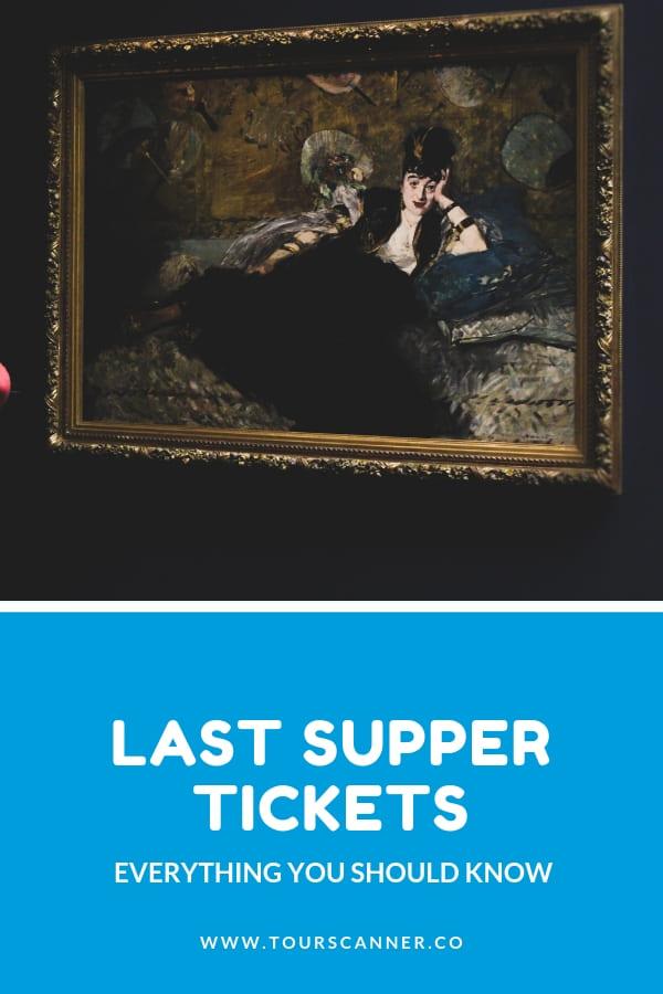 tickets última ceia - Pinterest