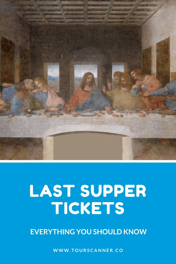 Biglietti per l'Ultima cena
