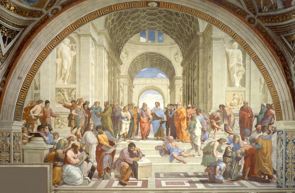 Raphael's School of Athens - Vatican museum