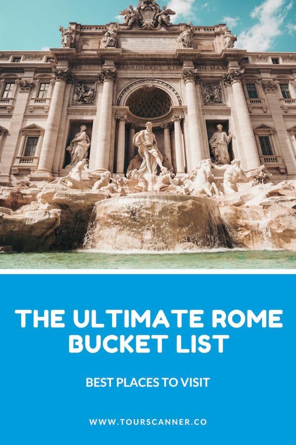Coisas Para Ver em Roma - Pinterest