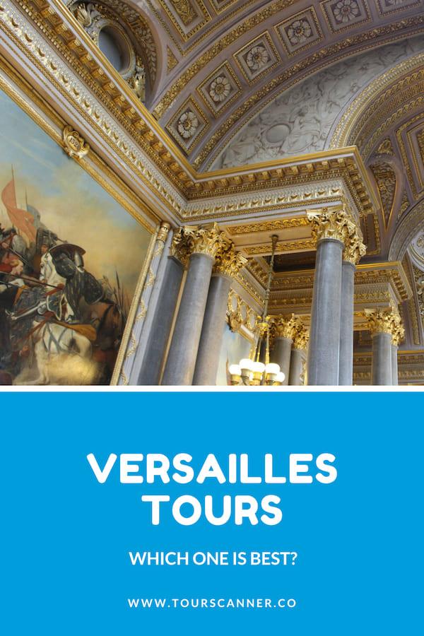 Versailles Tours Pinterest