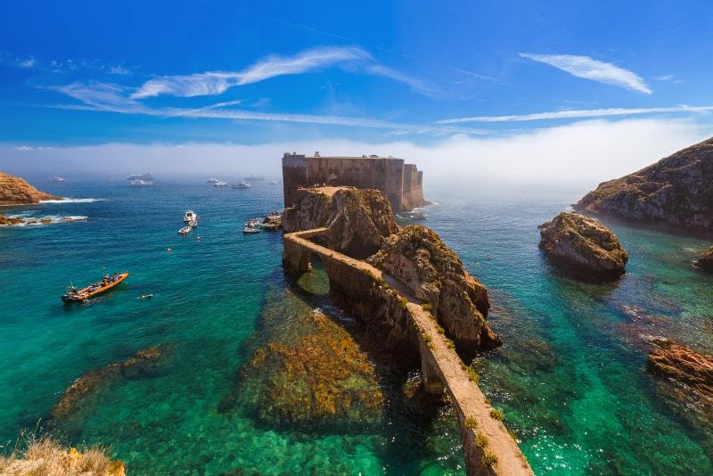 Berlenga islands - day trips from Lisbon