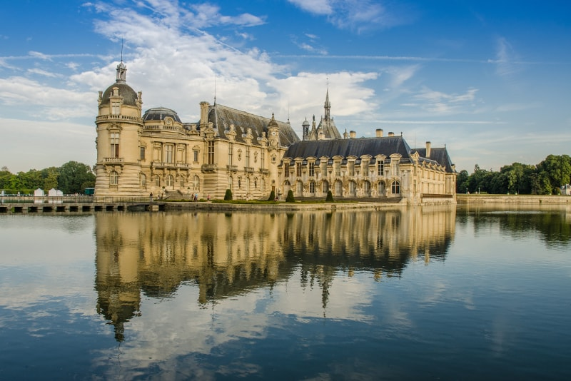 Chateau de Chantilly day trips from Paris