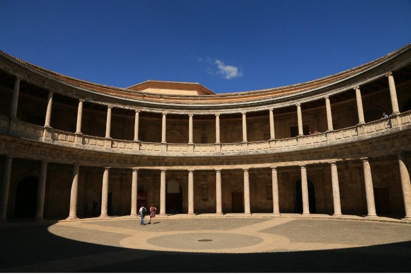Palacio de Carlos V - Alhambra tours