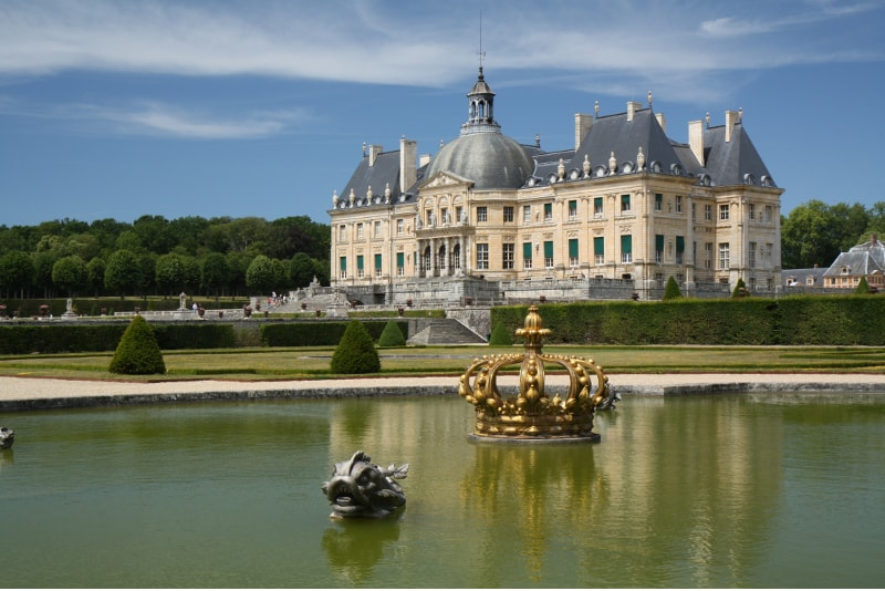 Chateau de Vaux-le-Vicomte day trips from Paris