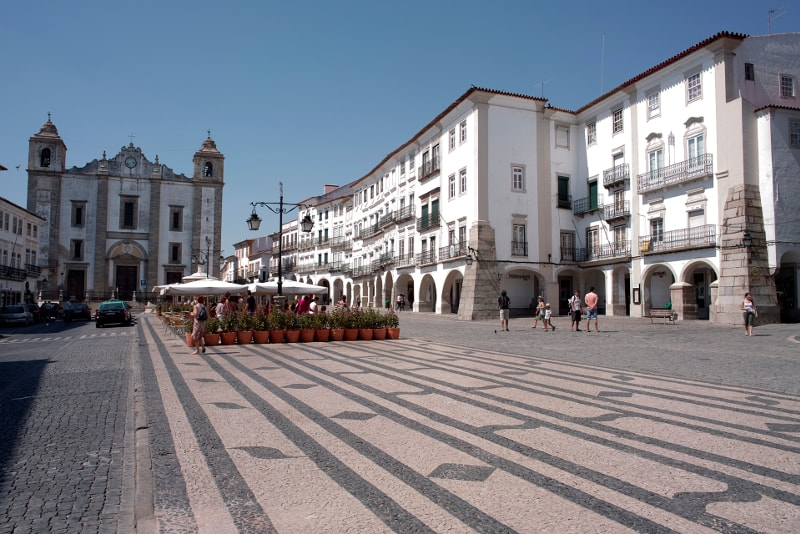 Evora - day trips from Lisbon