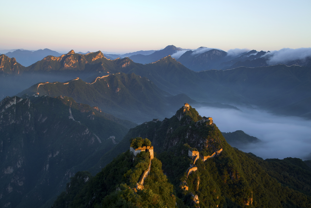 Great Wall of China - Panoramic view