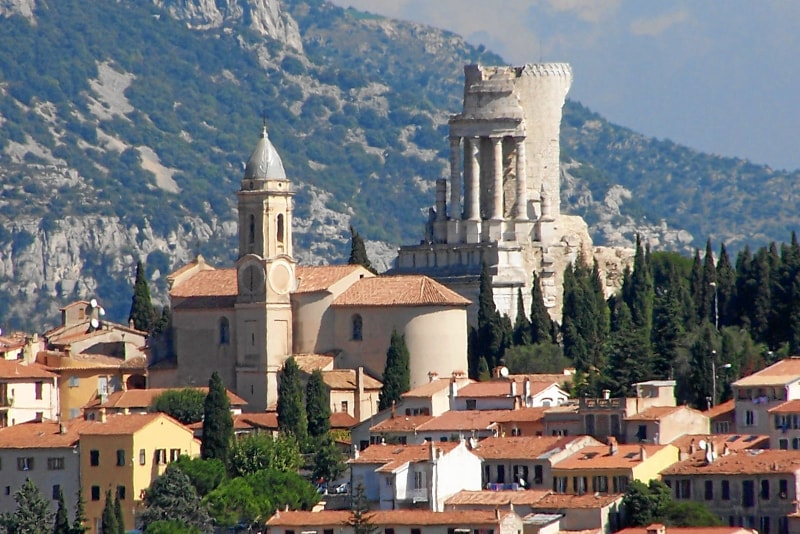 La Turbie day trips from Nice