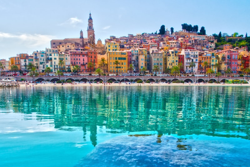 Menton day trips from Nice