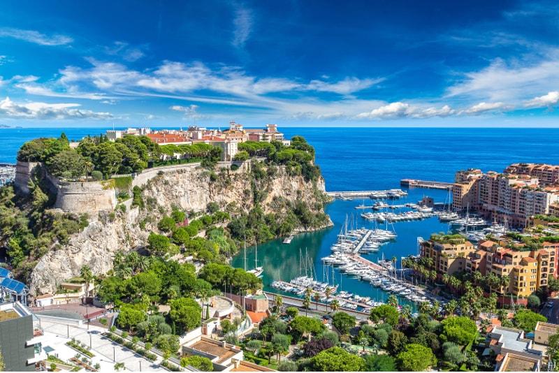 Monaco - Gite da Nizza