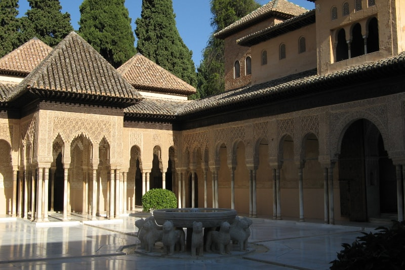 Nasrid Palaces - Palace of the Lions