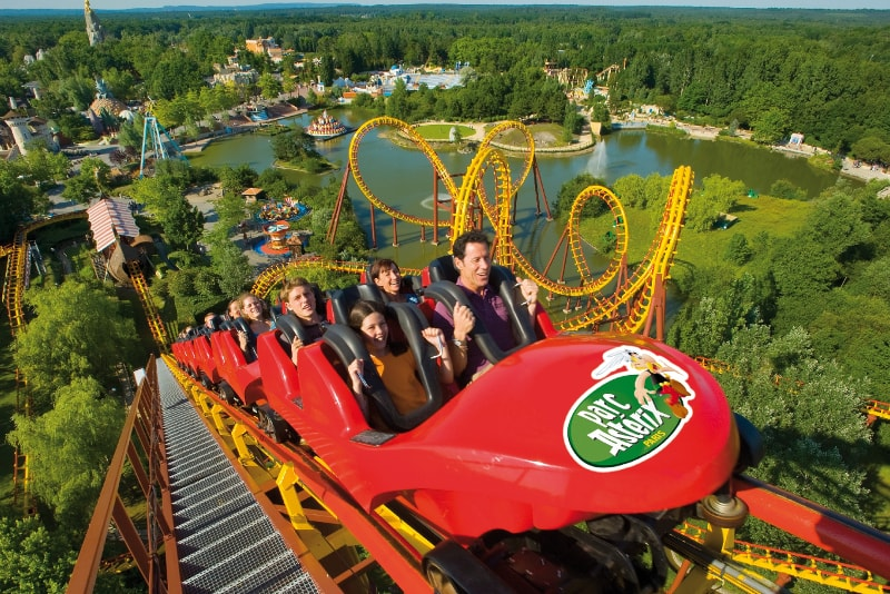 Parc Asterix day trips from Paris