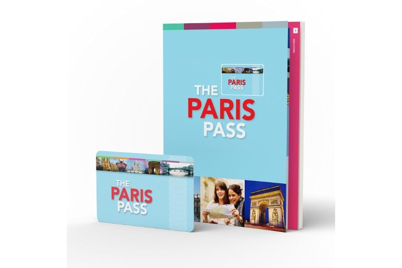 Paris Pass book