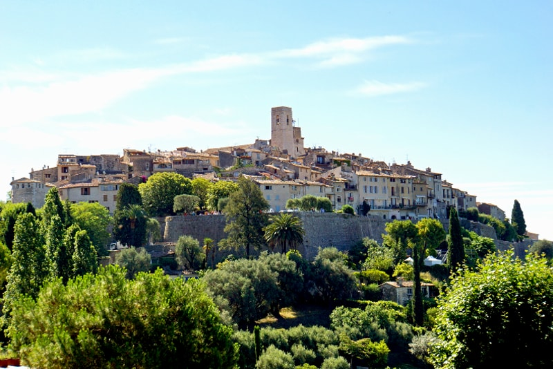 Saint Paul de Vence day trips from Nice
