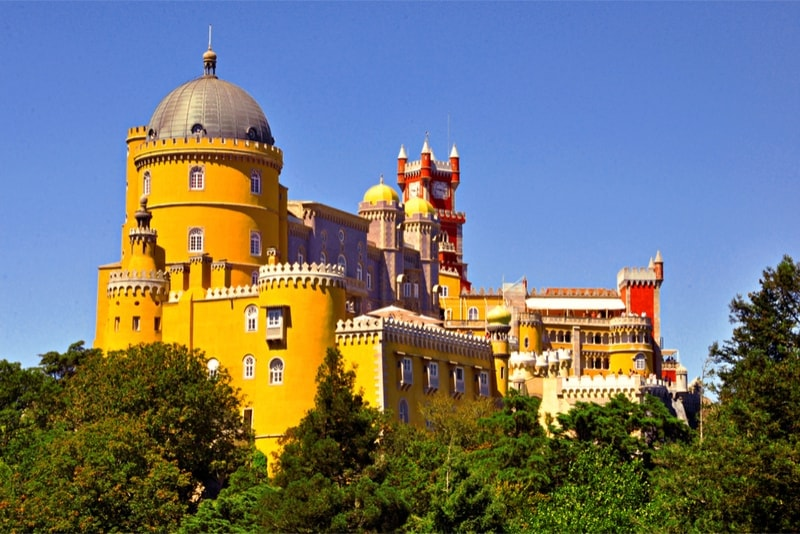 Sintra - day trips from Lisbon