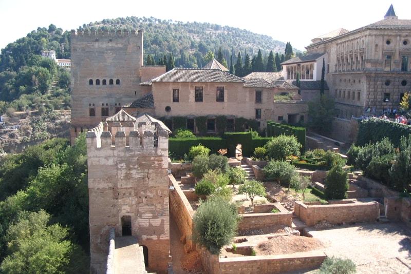 Torre de Comares - Paseos por la Alhambra.