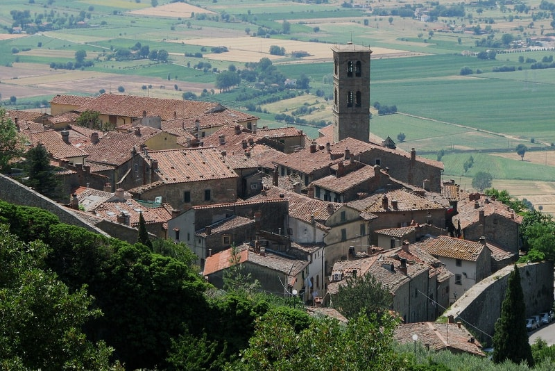 Cortona day trips from Florence