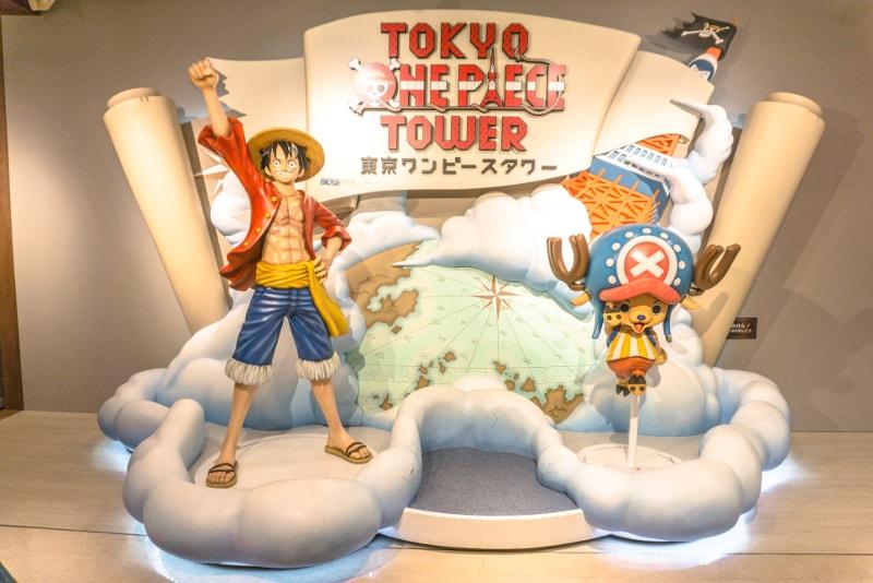 Torre de One Piece - Viagens de Tóquio