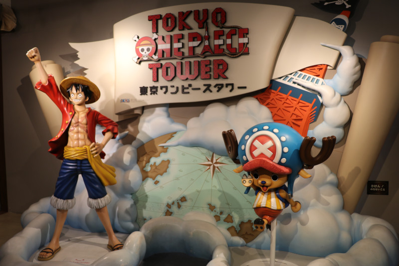 One Piece Tower day trips from Tokyo