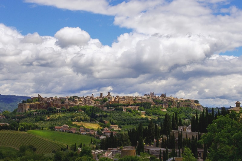Orvieto day trips from Florence