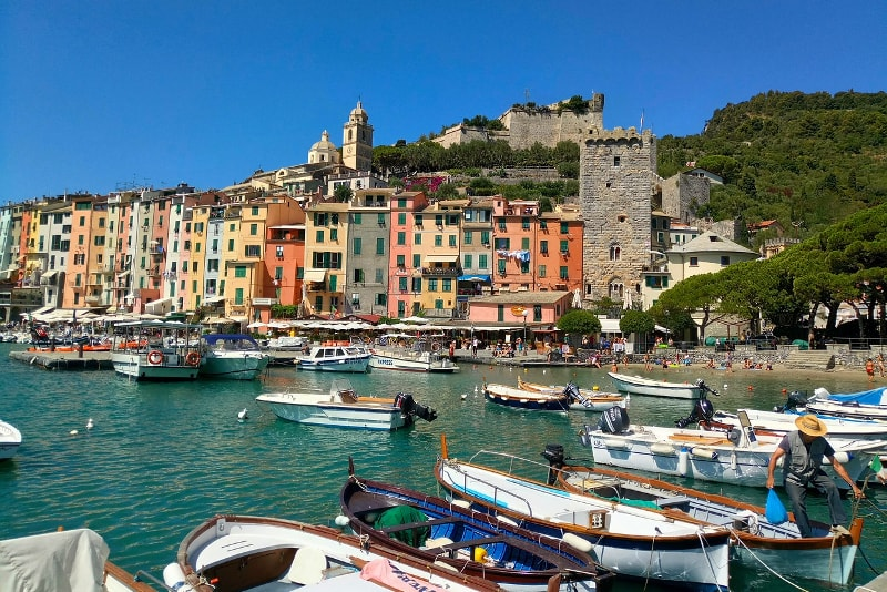 Portovenere day trips from Florence