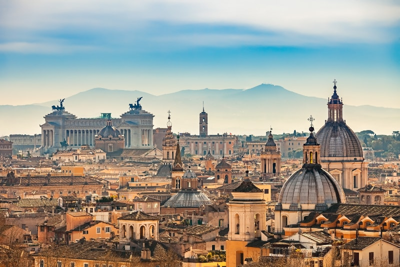 Rome day trips from Florence