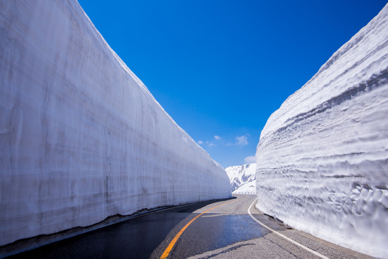 Route Alpine de Tateyama Kurobe day trips from Tokyo
