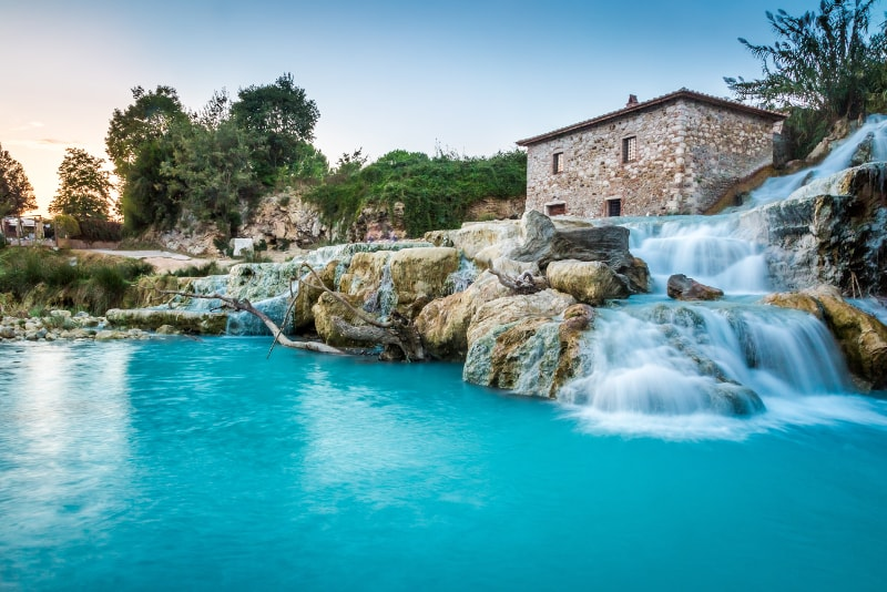 Saturnia day trips from Florence