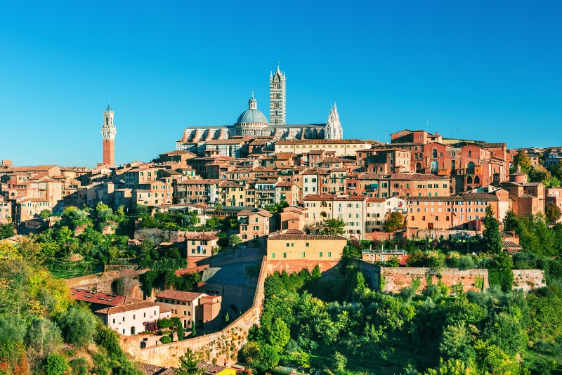 Siena day trips from Florence