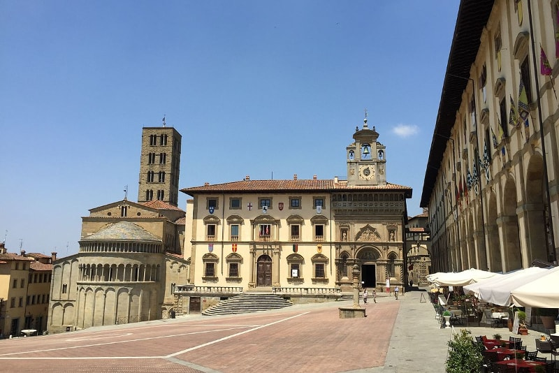 Arezzo day trips from Florence