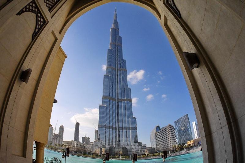 Vista do Burj Khalifa - Bilhetes Burj Khalifa
