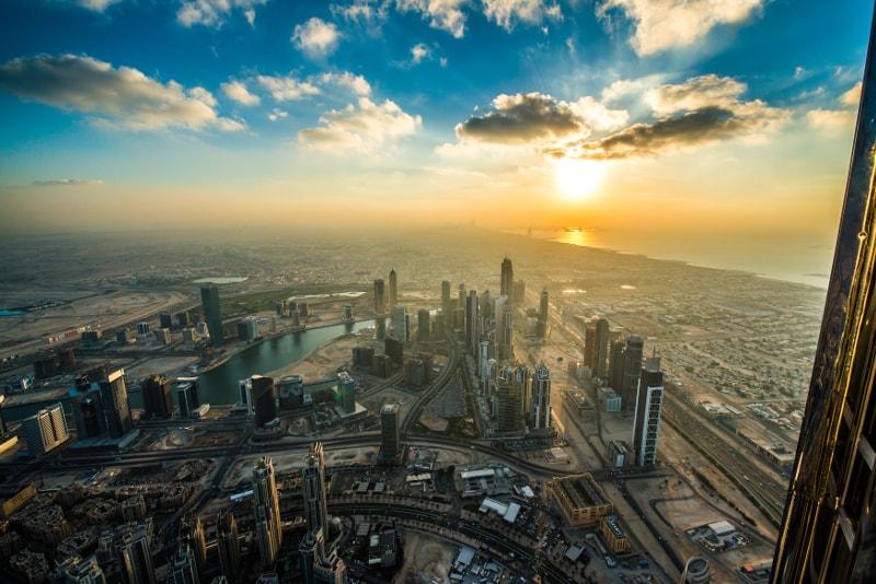 "Vista de Burj Khalifa segundo piso - Burj Khalifa Entradas: sin colas, ""At the Top"", amanecer, desayuno..."