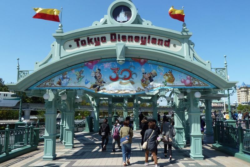Disneyland Tokio excursiones de un día desde Tokio