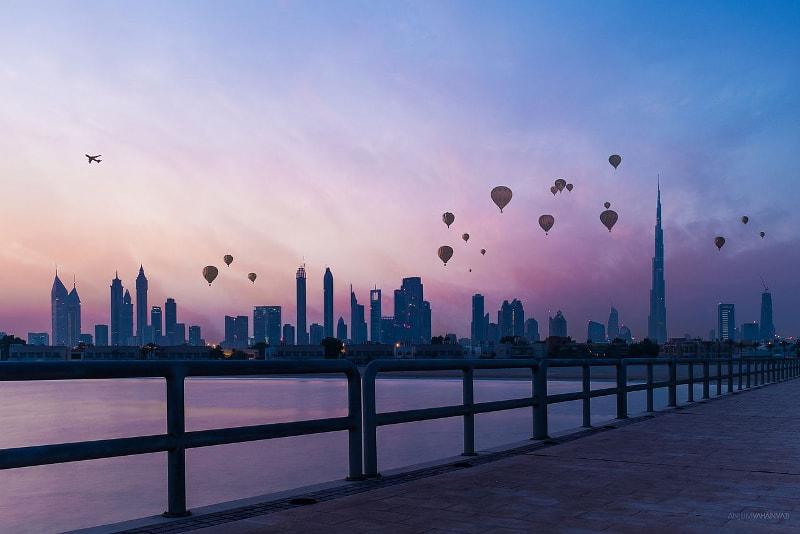 Skyline de Dubai - Bilhetes Burj Khalifa