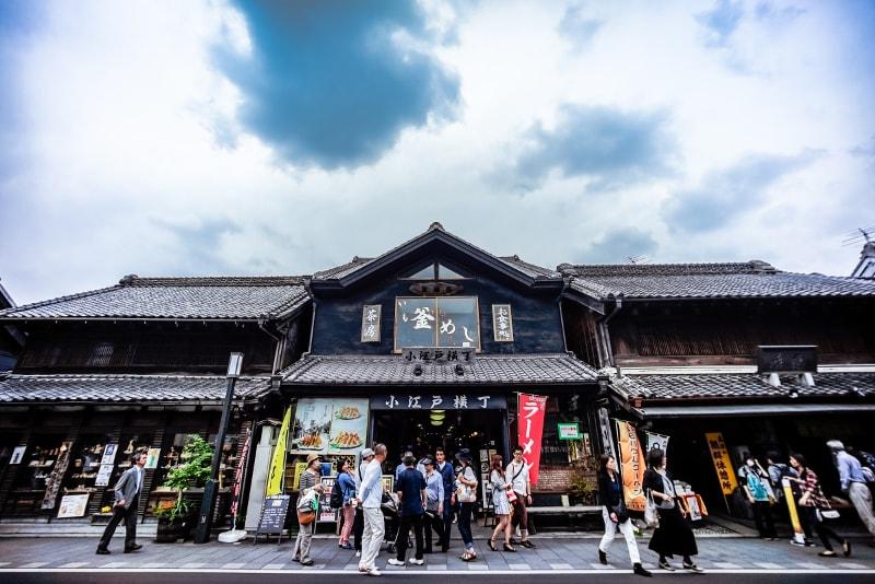 Kawagoe  - Viagens de Tóquio