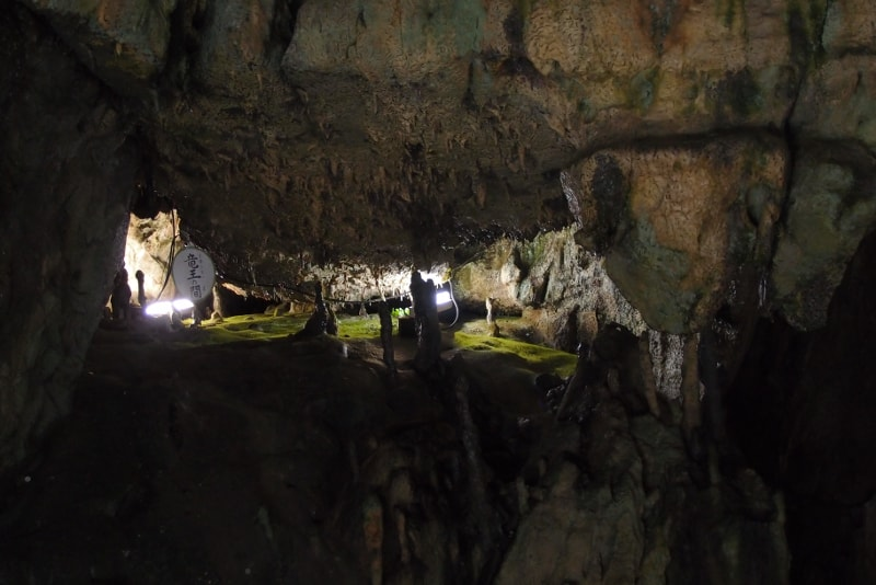 Cueva de piedra caliza de Niappara