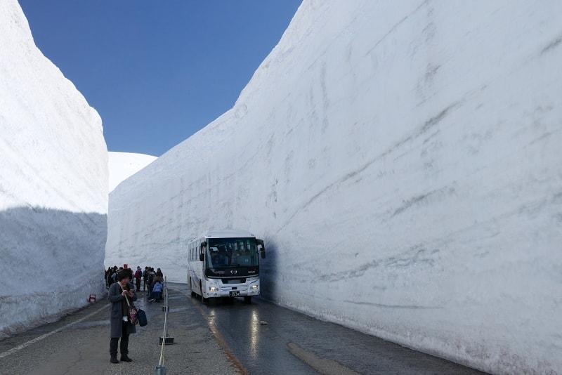 Rota alpina Tateyama Kurobe - Viagens de Tóquio
