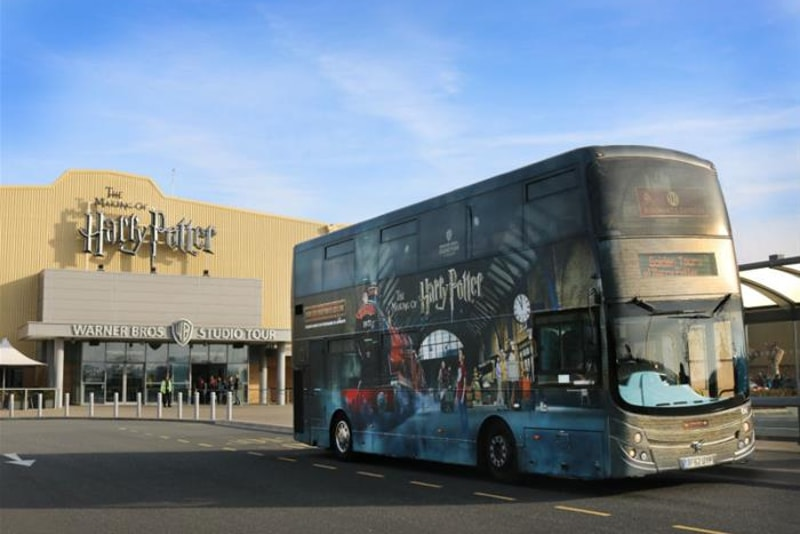 Bus Warner Bros - billets studios harry potter