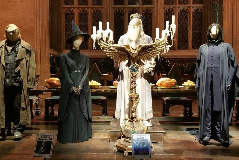 Harry Potter Studio Tour Tickets Last Minute - costumes