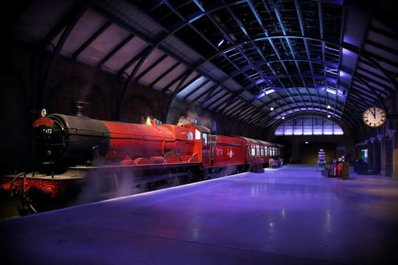 Quai 9 ¾ - billets studios harry potter